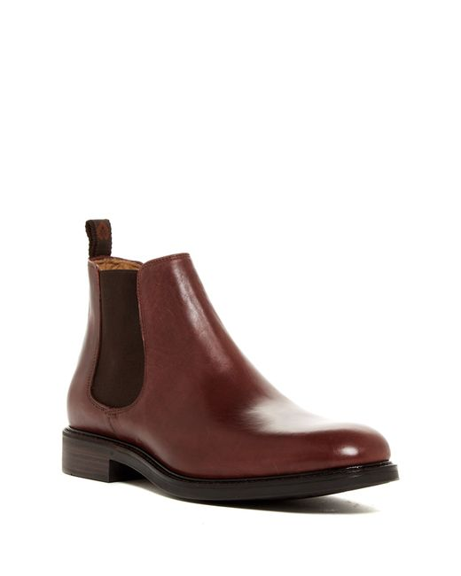 campobello alden chelsea boot in brown for men bordeaux. Black Bedroom Furniture Sets. Home Design Ideas