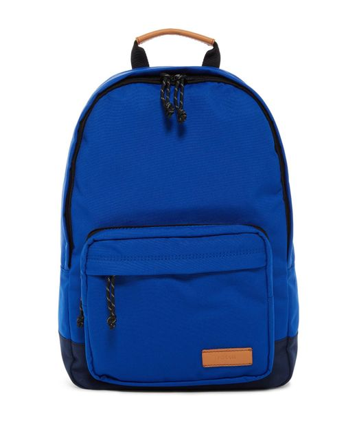 Fossil - Blue Estate Canvas Backpack - Lyst