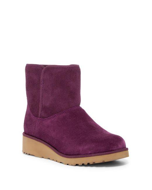 Ugg Purple Kristin - Classic Slim(tm) Water Resistant Mini Boot