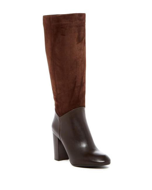 Johnston & Murphy | Brown Yvonne Tall Water Resistant Boot | Lyst