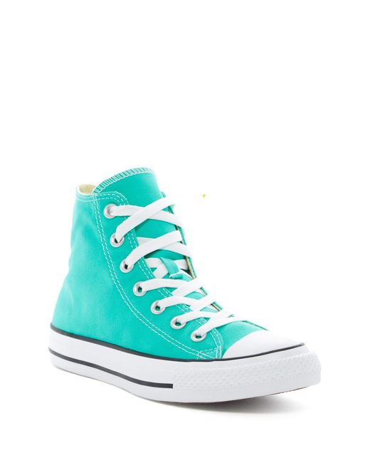 Converse   Blue Chuck Taylor All Star Hi Top Sneakers (unisex) for Men   Lyst