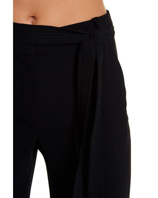 Trina Turk   Black Elfi Pleated Skirt Overlay Short   Lyst