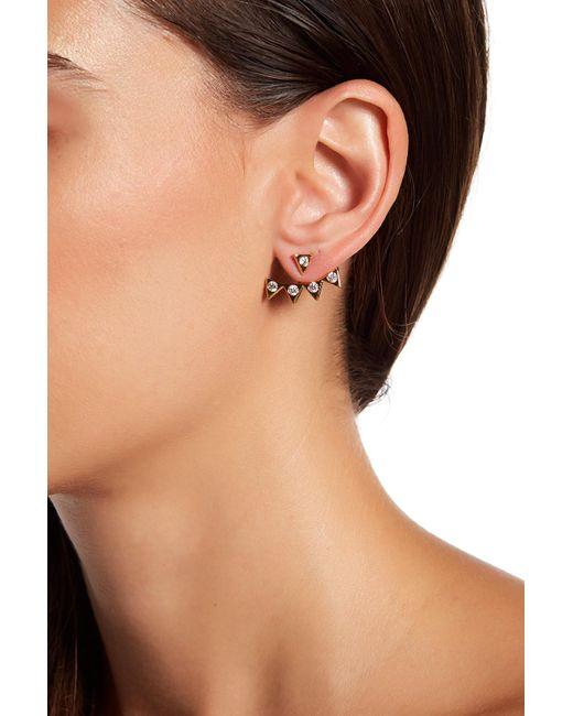 Gorjana | Metallic Mika Shimmer Statement Ear Jacket Earrings | Lyst