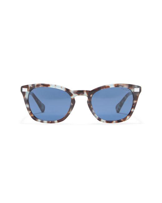 Ralph Lauren 51mm Square Sunglasses In Blue Tortoise /blue Solid At Nordstrom Rack for men