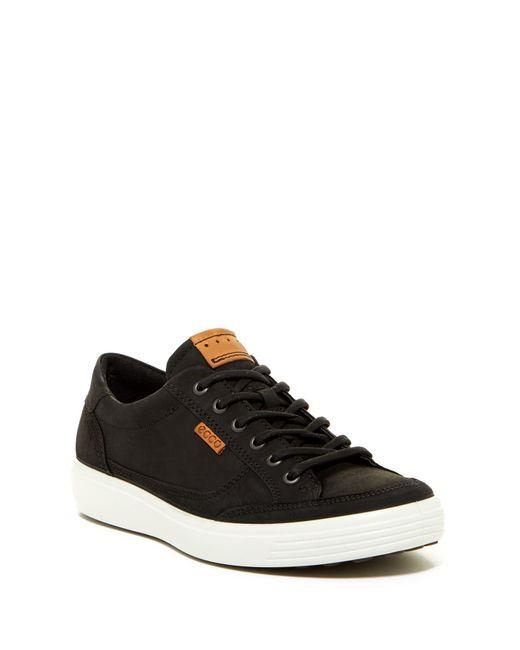 Ecco - Black Soft 7 Tie Sneaker for Men - Lyst