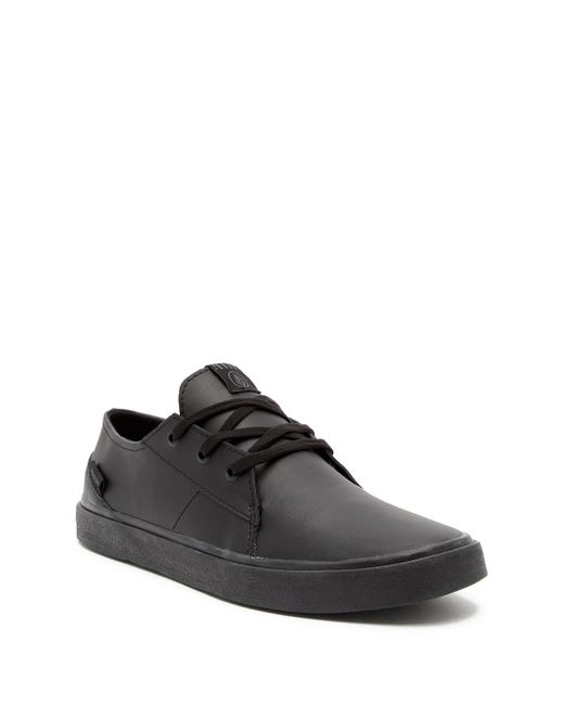 Volcom - Black Lo-fi Sneaker for Men - Lyst