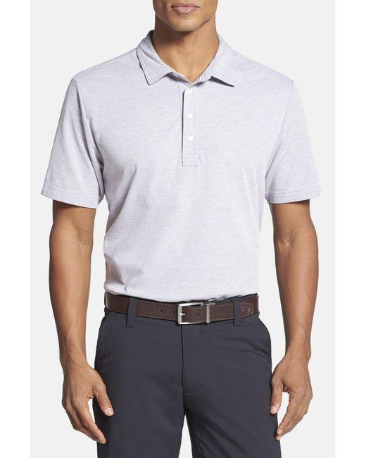 Travis Mathew | Gray Crenshaw Golf Polo Shirt for Men | Lyst