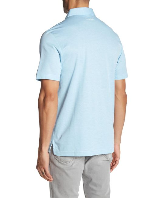 Travis Mathew Crenshaw Golf Polo Shirt In Blue For Men Lyst