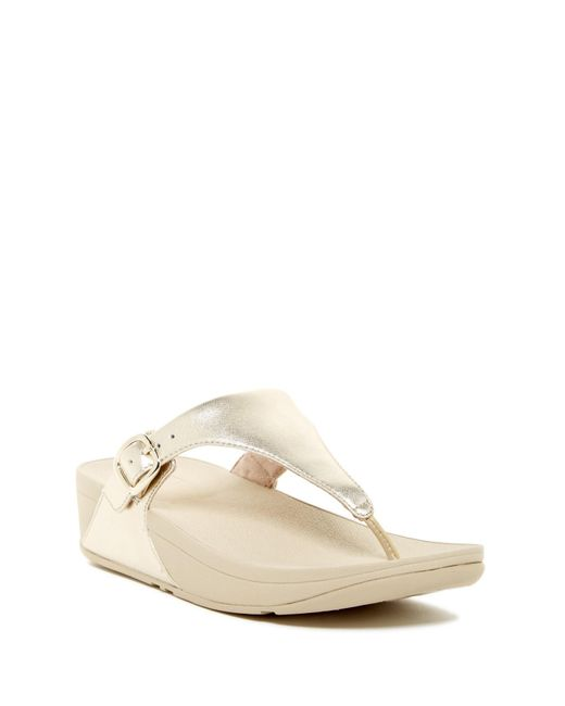 ac956e96f3d0c1 Fitflop - Multicolor The Skinny Sandal - Lyst ...