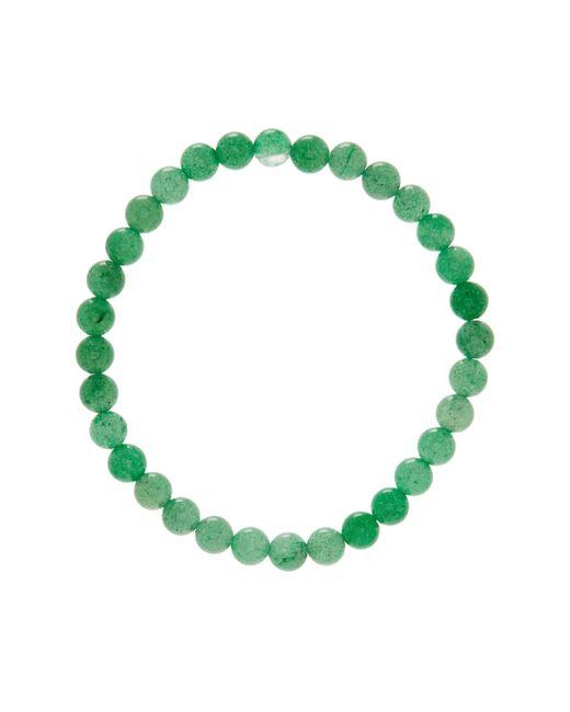 Link Up | 6mm Green Adventurin Beaded Bracelet | Lyst