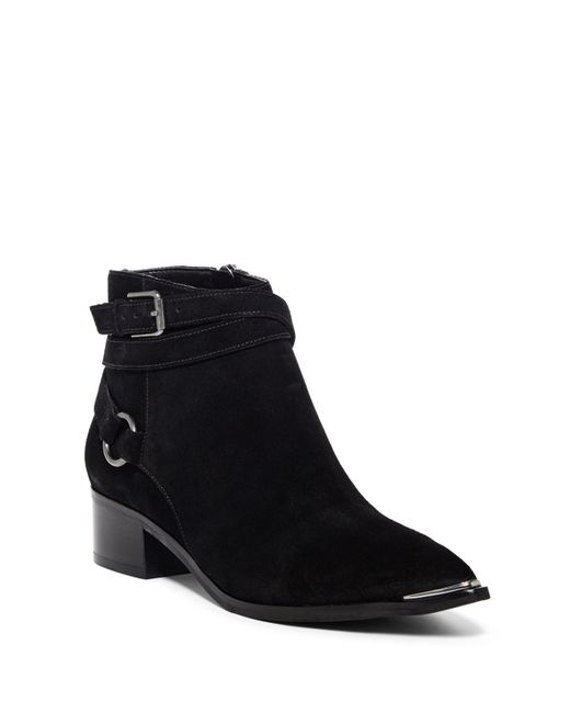 Marc Fisher - Black Yatina Strappy Ankle Boot - Lyst