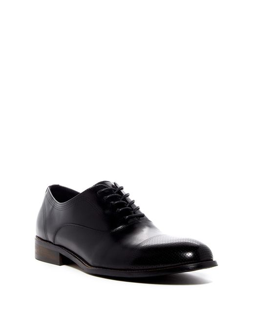 Kenneth Cole Reaction - Black Jean-ial Cap Toe Derby for Men - Lyst