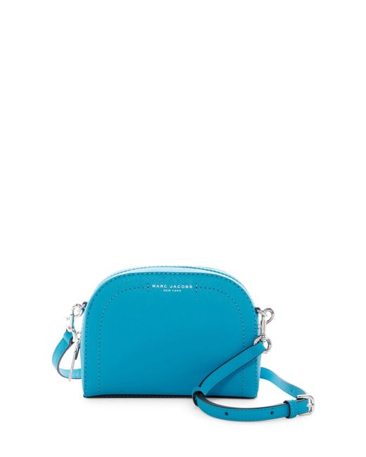 Marc Jacobs | Blue Playback Leather Crossbody | Lyst