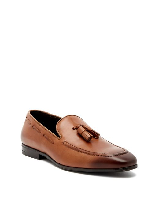 Bruno Magli - Brown Ryan Leather Loafer for Men - Lyst