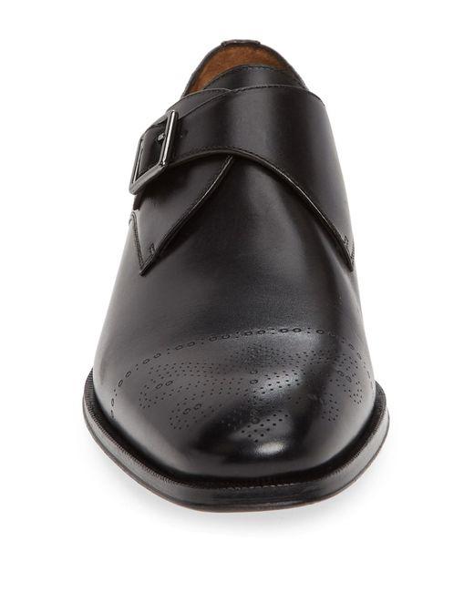 Gordon Rush Mens Abbott Monk Strap Loafer