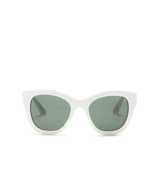 Elizabeth and James | White Women's Bryant Oversized Square Acetate Frame Sunglasses | Lyst