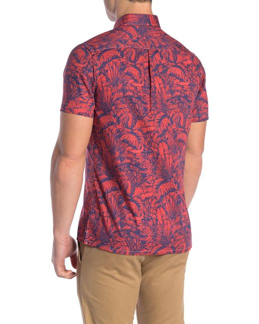 5eec3789f ... Wallin & Bros. - Multicolor Hawaiian Short Sleeve Performance Fit Shirt  for Men - Lyst