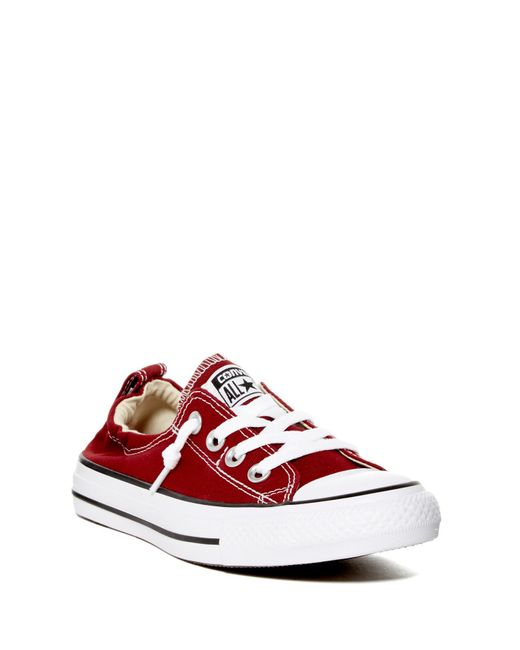 Converse - Red Chuck Taylor(r) All Star(r) Shoreline Slip-on Sneaker (women) - Lyst