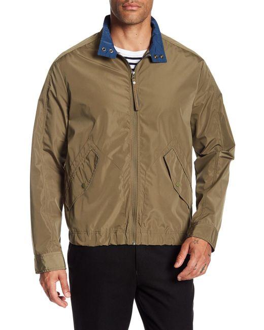Andrew Marc - Multicolor Barracuda Mock Collar Jacket for Men - Lyst