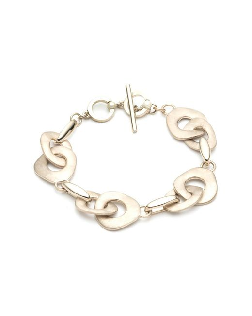 """Carolee Metallic Golden Hour 7.5"""" Metal Flex Bracelet"""