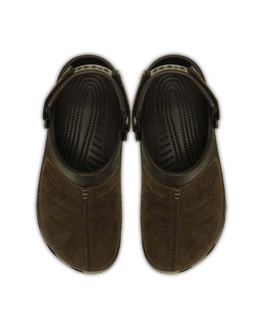 Los Angeles 21a10 75d31 Men's Yukon Mesa Leather Paneled Clog