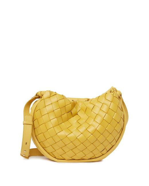 Vince Camuto Yellow Jude Leather Crossbody Bag