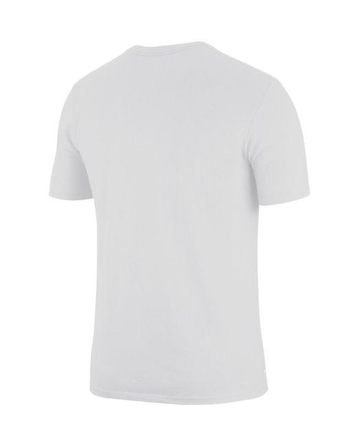383c4eab377 Lyst - Nike Basketball Stats Dri-fit Tee in White for Men - Save 11%