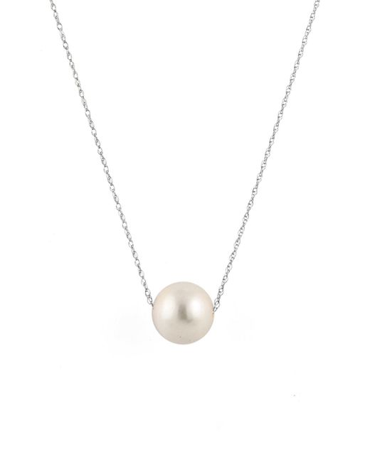 Splendid - White 9-10mm South Sea Pearl Necklace - Lyst