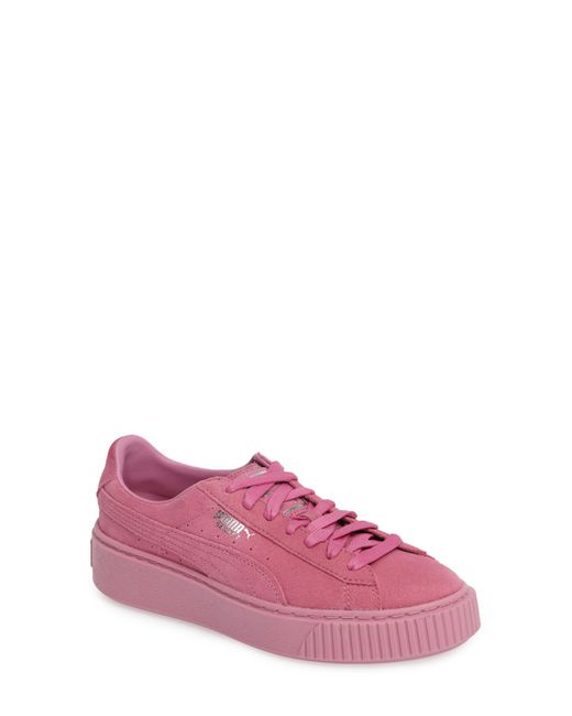 PUMA - Pink Reset Platform Sneaker (women) - Lyst ... eb8ed9f9a5fc