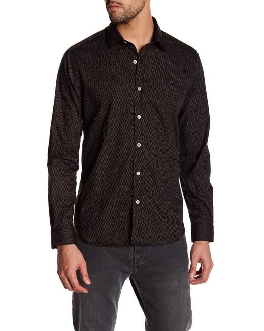 Lyst Jeff Livermore Dotted Long Sleeve Tailored Fit