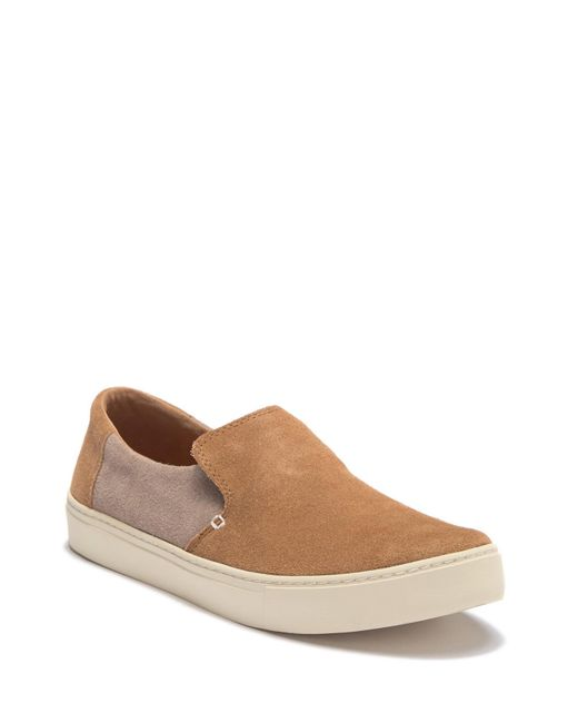 7676227906b Lyst - TOMS Lomas Suede Slip-on Sneaker in Brown for Men - Save 38%