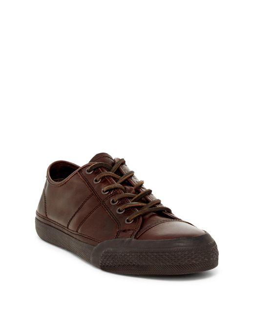 Frye | Brown Greene Low Lace-up Sneaker for Men | Lyst