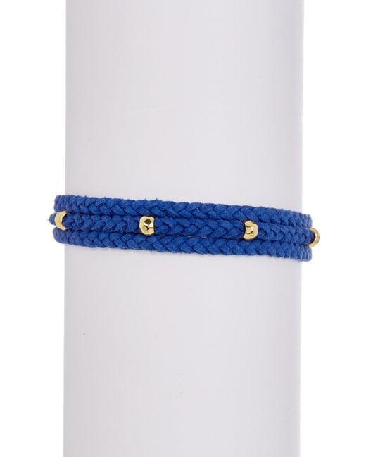 Gorjana - Blue Miller Tassel Accented Beaded Bracelet - Lyst