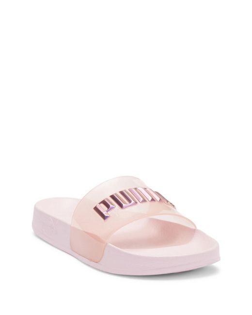 PUMA - Pink Leadcat Sophia Webster Glitter Princess Slide - Lyst