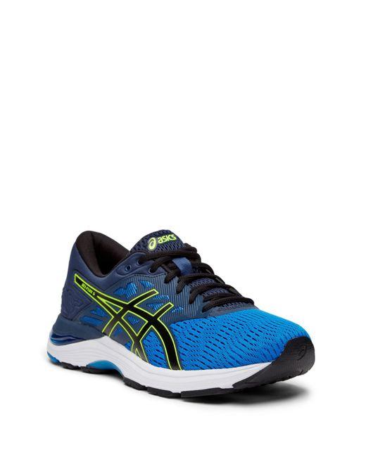 Asics - Blue Gel Flux 5 Sneaker for Men - Lyst