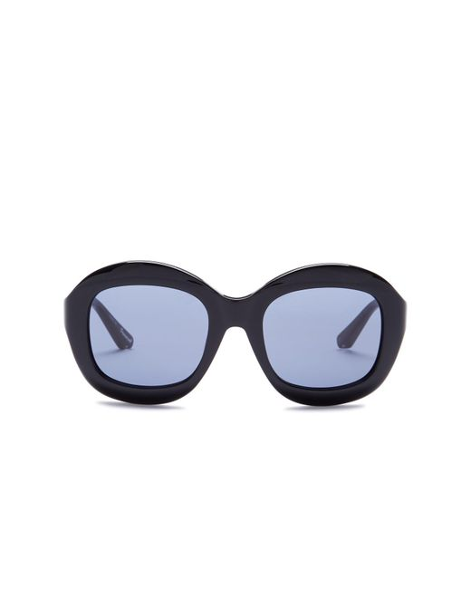 Elizabeth and James | Black Women's Beaumont Oversized Round Acetate Frame Sunglasses | Lyst