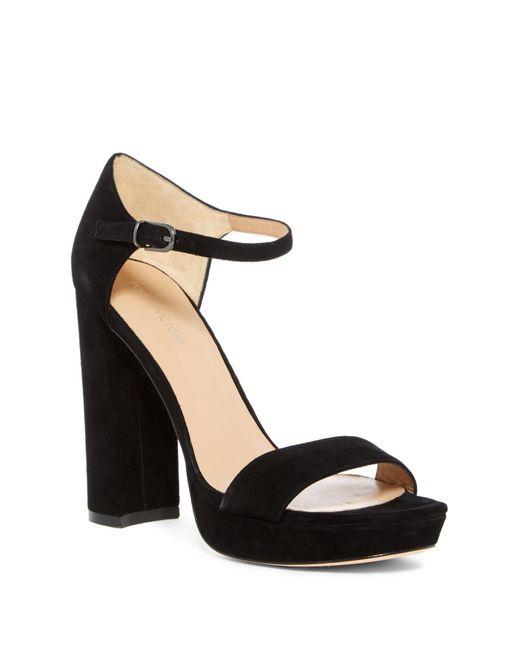 Pour La Victoire - Black Yvette Platform Sandal - Lyst