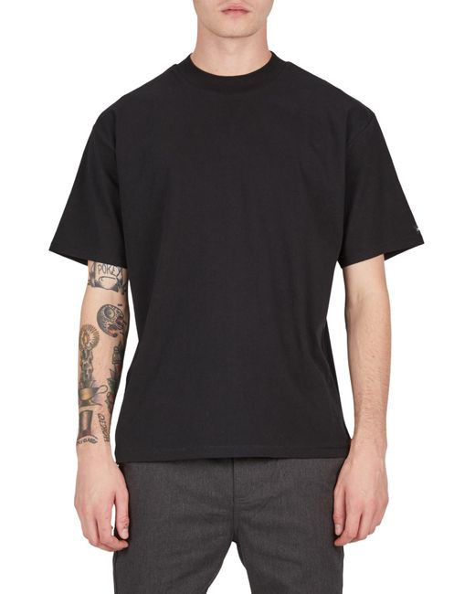 Zanerobe Black Solid Box T-shirt for men