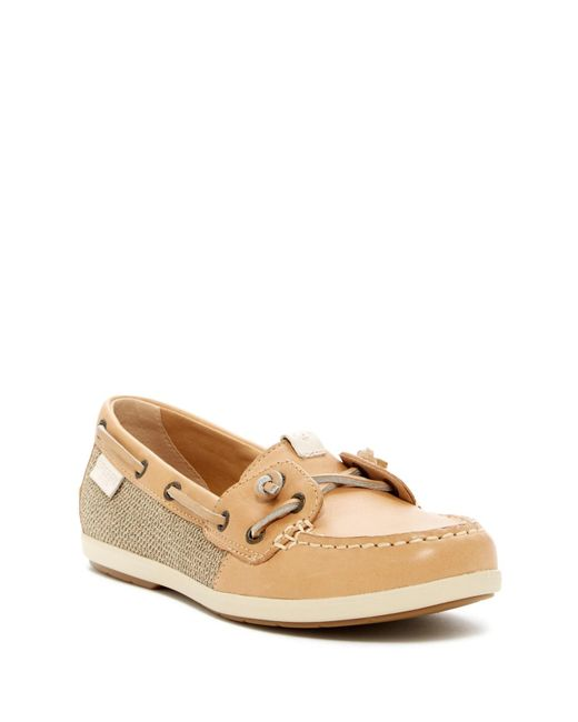 Sperry Top-Sider   Multicolor Coil Ivy Contrast Boat Shoe   Lyst