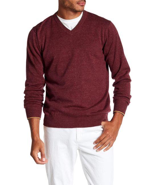 Robert Graham   Red Antony Sweater for Men   Lyst