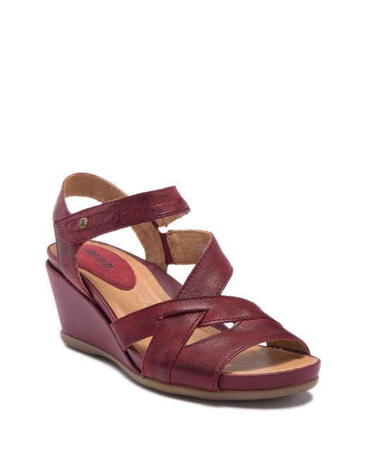 Earth - Multicolor Thistle Wedge Sandal - Lyst