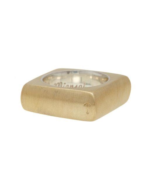 Miansai - Multicolor Square Ring - Size 7 for Men - Lyst