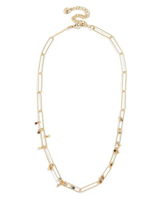 BaubleBar - Metallic Eden Cz Statement Necklace - Lyst