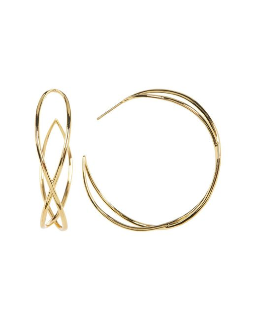 Gorjana - Metallic Autumn Hoop Earrings - Lyst
