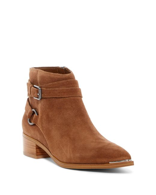 Marc Fisher - Brown Yatina Strappy Ankle Boot - Lyst