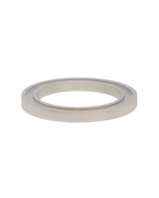 Miansai | Metallic Beam Grooved Ring - Size 10 | Lyst