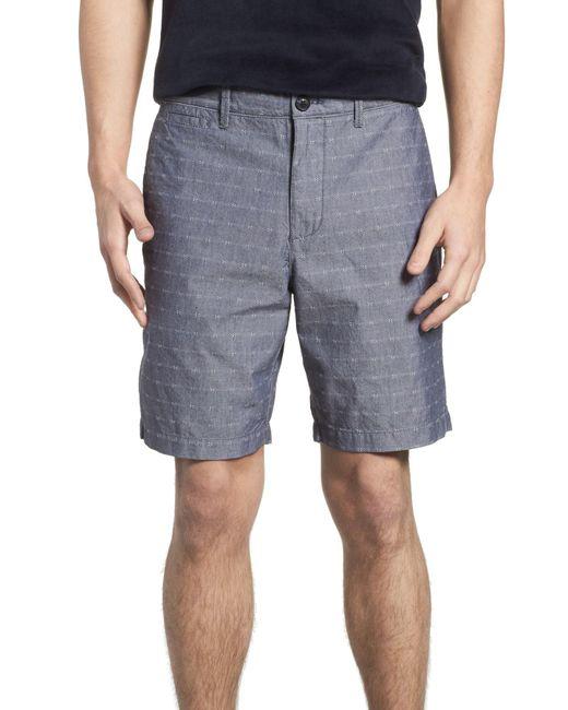 Original Penguin - Blue P55 Dobby Chambray Shorts for Men - Lyst
