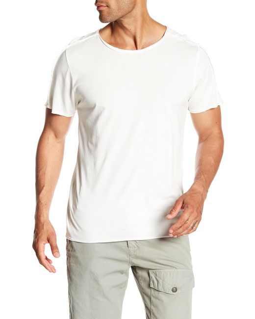Threads For Thought - White Mason Tee for Men - Lyst