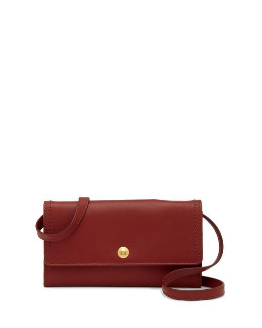 Cole Haan - Multicolor Benson Ii Leather Smartphone Crossbody Bag - Lyst