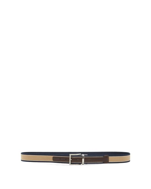 Trafalgar Natural Jack Reversible Fabric Belt for men